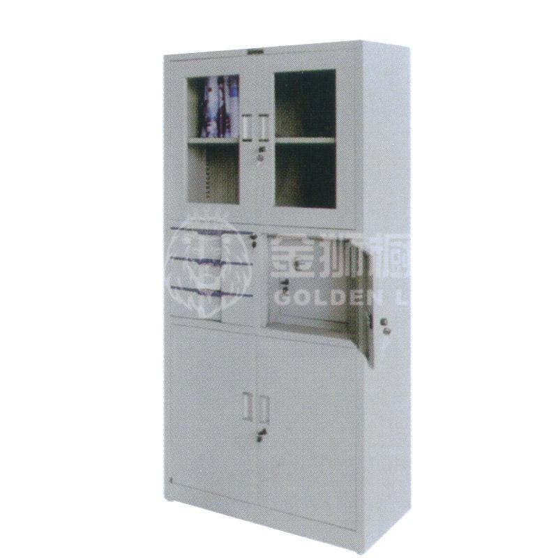 偏三斗内保险器械柜